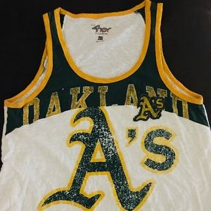 Tops - Oakland A's Tank Top